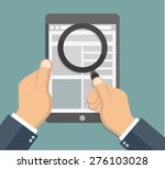 search on the internet concept  ... | Shutterstock .eps vector #276103028