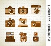 photographic icon design ... | Shutterstock .eps vector #276158045