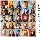 women's portraits | Shutterstock . vector #276175676