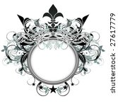 ornate shield | Shutterstock .eps vector #27617779