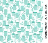 vector seamless pattern with... | Shutterstock .eps vector #276183455