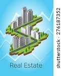 real estate | Shutterstock .eps vector #276187352