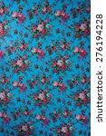 texture fabric pattern flower... | Shutterstock . vector #276194228