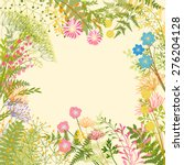Springtime Colorful Flower Herb ...