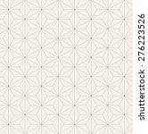 vector seamless pattern. modern ... | Shutterstock .eps vector #276223526