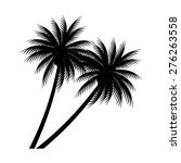 palm trees vector | Shutterstock .eps vector #276263558