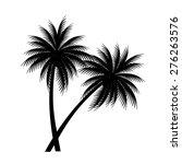 palm trees vector | Shutterstock .eps vector #276263576