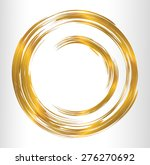 Gold Abstract Vector Bright...