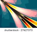 abstract futuristic fractal... | Shutterstock . vector #27627373