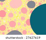 abstract futuristic fractal... | Shutterstock . vector #27627619