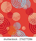 Seamless Pattern Of Circles. A...