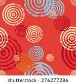 seamless pattern of circles....