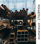 open air market of steel...   Shutterstock . vector #276289406