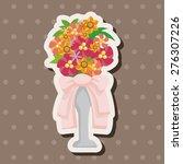 flower bouquet   cartoon...   Shutterstock . vector #276307226