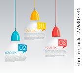 modern vector abstract step... | Shutterstock .eps vector #276307745