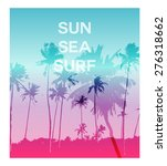 creative trendy poster with... | Shutterstock .eps vector #276318662