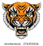 an illustration of a mean... | Shutterstock .eps vector #276353426