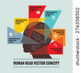 human head   infographic...   Shutterstock .eps vector #276358502