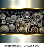 abstract background metallic... | Shutterstock .eps vector #276365192
