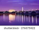 Washington Dc Skyline On The...