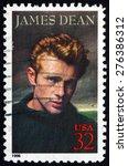 usa   circa 1996  a stamp... | Shutterstock . vector #276386312