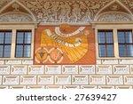 Sundial Litomysl Castle Czech...