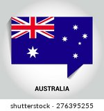 three dimensional 3d australia... | Shutterstock .eps vector #276395255