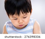 Asian Baby Son With Dirty Mouth