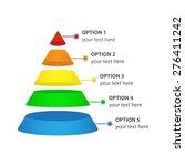 vector infographic of marketing ... | Shutterstock .eps vector #276411242