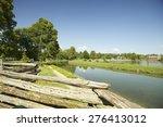 old village landscape  | Shutterstock . vector #276413012