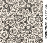 lace seamless pattern. | Shutterstock .eps vector #276444356