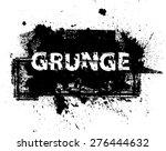 vector circle brush stroke .... | Shutterstock .eps vector #276444632
