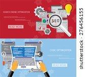 vector flat concept of... | Shutterstock .eps vector #276456155