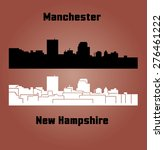 manchester  new hampshire | Shutterstock .eps vector #276461222