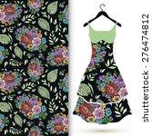 vector fashion illustration ...   Shutterstock .eps vector #276474812