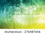 healthcare technology and... | Shutterstock . vector #276487646