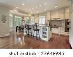 kitchen with island | Shutterstock . vector #27648985