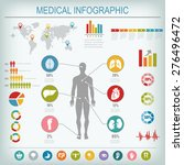 medical infographics elements.... | Shutterstock .eps vector #276496472