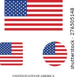 usa flag | Shutterstock .eps vector #276505148