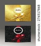 elegant invitation envelopes... | Shutterstock .eps vector #276517868