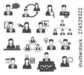 business management and... | Shutterstock .eps vector #276529322