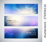 vector banners set with... | Shutterstock .eps vector #276546116