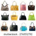 female handbags collection... | Shutterstock . vector #276551792