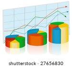 chart diagram vector | Shutterstock .eps vector #27656830