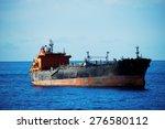 ship on the atlantic ocean