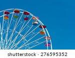 giant ferris wheel against... | Shutterstock . vector #276595352