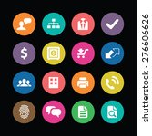 bank icons universal set for... | Shutterstock .eps vector #276606626
