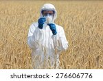 agricultural engineer on field... | Shutterstock . vector #276606776