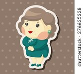 family mother character  ... | Shutterstock . vector #276625328