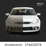 car wash service creative... | Shutterstock .eps vector #276632078